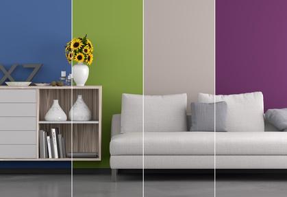 Frische Wandgestaltung Zaubert Frühling Ins Haus